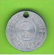 # 107 -  Spielmarke - Jeton - PARTNER IN BILDUNG UND TECHNIK - Profesionales/De Sociedad