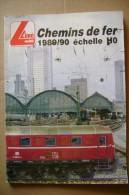 PCE/7 Catalogo LIMA HO 1989/90 Chemins De Fer/treni/modellismo - Francia