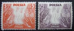 A8511 - Polen - 1938-39 - MLH - Sc. B32-B33 - 1939-44: World War Two