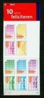 Netherlands 2001,10V Booklet,feliciteren,congratulo Con,MNH/Postfrs,(L1439it - Feesten