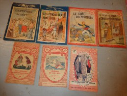 Livres -jeanne D´huart De Roques.pierre Hellin-georges Le Hunier-paul Darcy -rouff Editeur-larousse Etc... - Books, Magazines, Comics
