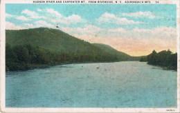 Hudson River And Carpenter   From Riverside  70Cte Betalen  1933 - Adirondack