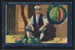 Orient East Pastèque Watermelon  Pub:Joseph-Milliat 76 X 50 Mm  TB - Trade Cards