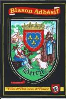 BLASON ADHESIF DU BERRY - France