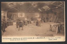 * Nantes - Menuiserie Lechat - Atelier Outils Mécaniques (1) - Nantes
