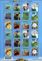 Brasil 2014 ** .Mini Pliego Dos Series Campeonato Mundial De Futbol De FIFA. Sedes. See Description. - Unused Stamps