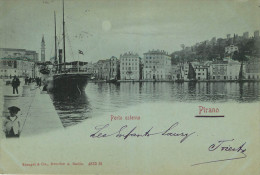 Solvenie : Pirano-  Porto Esterno - Voyagée En 1900 - Slovénie