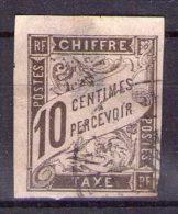 COLONIES FRANCAISES TAXE N° 6 Obl - Taxes