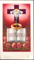 Devotie - Prentje Kloosterprofessie Broeder Joannes Robertus ( Robert De Vos ) Gent 1961 - Santini