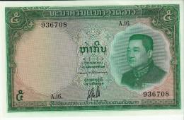 LAOS 5 Kip 1962 UNC P09b - Laos