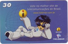 "***Télécarte Prépayée  Brésil""iBest 2001"" 30unidades Utilisée **TB  A Saisir *** N° Lot :L4-01-01/01 - Brésil"