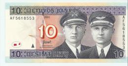 LITUANIE 10 Litu 2001 UNC P65 - Lituanie