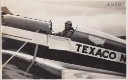 Photographie/ Aviation / Aviateur Frank  M. Hawks Texaco USA Transcontinental Record Holder / Photo Andr� Le Bourget 93