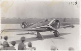 Photographie/ Aviation Militaire /  Avion Atterrissage A�rodrome / Photo Andr� Le Bourget 93