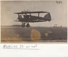 Photographie/ Aviation / Avion Berline 56  en vol  / Photo Andr� Le Bourget 93