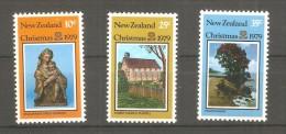 Serie Nº 752/4 New Zeland - Kerstmis