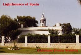 Lighthouses Of Cataluña (Spain) - Postcard Collection - Punta Senieta - Lighthouses