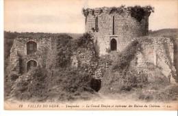 Tonquédec (Plouaret-Lannion-Côtes D´Armor)-+/-1920-Vallée Du Guer-Le Grand Donjon-Intérieur Des Ruines Du Château - Lannion