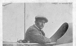 AVIATEUR GIBERT SUR MONOPLAN REP - Aviatori
