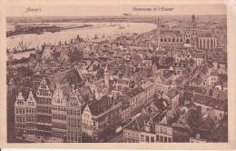 CPA Anvers - Panorama Et L'Escaut - 1913 (4022) - Antwerpen