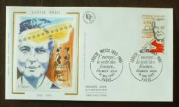 FDC 1993 - YT N°2809 - Louise WEISS, écrivain Et Femme Politique - PARIS - 1990-1999