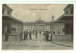 63b60CpaCLERMONT - FERRAND Quartier Desaix 53ème Régiment D'Artillerie ; Porte D' Entrée 1917 - Clermont Ferrand