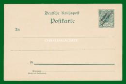 GERMANY 1898 S.W.A.  SUDWESTAFRIKA  PREPAID / ENTIER C.P.  MICHEL P 5 UNUSED - Colony: German South West Africa