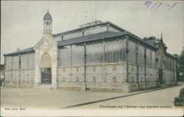 79 COULONGES SUR L'AUTIZE / Le Marché Couvert / CARTE COULEUR - Coulonges-sur-l'Autize