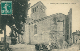 79 COULONGES SUR L'AUTIZE / L'Eglise / - Coulonges-sur-l'Autize