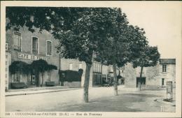 79 COULONGES SUR L'AUTIZE / La Rue De Fontenay / - Coulonges-sur-l'Autize