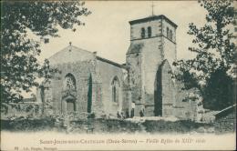 79 MAULEON / Vieille Eglise Du XIIIème Siècle, Saint-Jouin-sous-Chatillo N / - Mauleon