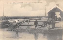 CPA 17 ARVERT PRES MARENNES ETABLISSEMENT DE LA MAISON ARAVET (rare Cpa - Francia