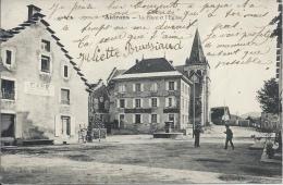 38 - AUTRANS - Isère - La Place Et L´Eglise - Other Municipalities