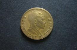 RARE !!! 5F 1958 - Guinea