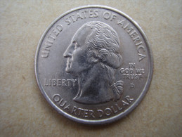"""U.S.A. 2000 STATE QUARTER  """"SOUTH CAROLINA""""  Mark ´D´ Condition USED GOOD - Other"""