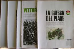 PCE/40 LA GUERRA DEL PIAVE + VITTORIO VENETO Ezio Colombo Epoca Universo Anni ´60/tav. Bertello - War 1914-18