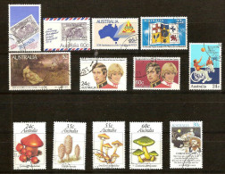 Australie 1981  Yvertn° Sélection Entre 731 Et 753 (°) Oblitéré Used Cote 11,70 Euro - 1980-89 Elizabeth II