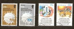 Australie Australia 1981  Yvertn° 754 Et 757 (°) Used Cote 3,40 Euro - 1980-89 Elizabeth II