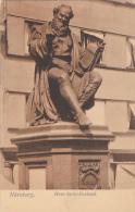 Germany Nuernberg Hans Sachs Denkmal