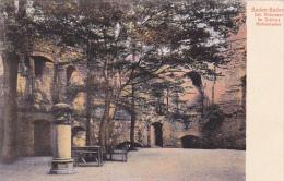 Germany Baden-Baden Der Rittersaal im Schloss Hohenbaden