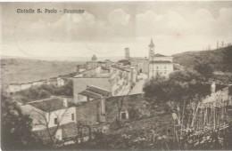 CIVITELLA SAN PAOLO-PANORAMA- VIAGGIATA- 1951- - Altre Città