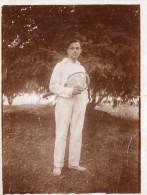 PHOTO 39 - Photo Originale ( 9 X 12 ) Joueur De Tennis - NEUILLY - Sports