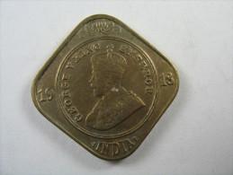 INDIA 2 ANNAS 1918    LOT 21 NUM  9 - India