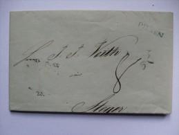 AUSTRIA 1841 ENTIRE PILSEN TO STEYR - Österreich