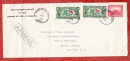 Luftpost, Foreign Service USA, MiF Kaffee U.a., Port Au Prince Nach New York 1939 (53225) - Haiti