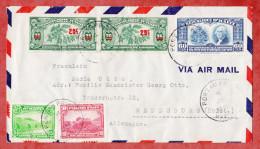 Luftpost, MiF Kaffee U.a., Port Au Prince Nach Rendsburg 1939 (53226) - Haiti
