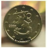 @Y@  Finland  5 0 Ct  2001  Unc - Finnland