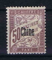 Chine : Yv  Tax Nr 6 MH/*  Maury Nr 5 - Chine (1894-1922)