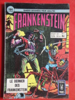 Frankenstein  N° 3 Aredit Artima Petit Format Bon état+ - Frankenstein