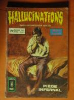 Hallucinations Recueil 3160 Aredit Artima Petit Format M. Agapit  Angoisse Bon état - Hallucination